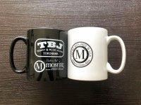 Mosrite & TBJ Wロゴ マグカップ Black&White 2個セット