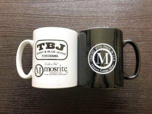 画像2: Mosrite & TBJ Wロゴ マグカップ Black&White 2個セット